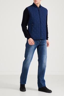 Синий шелковый жилет Brioni 1670166938