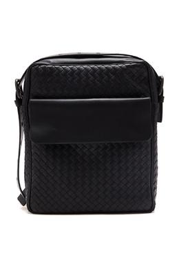 Черная кожаная сумка-планшет Bottega Veneta 1669166948