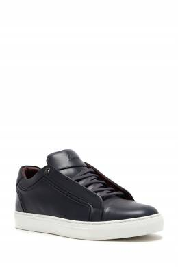 Черные кожаные кеды Brioni 1670166958