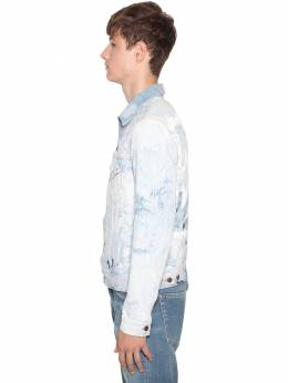 Arrow Slim Cotton Denim Jean Jacket Off-White 71ILFA069-MTQxNA2