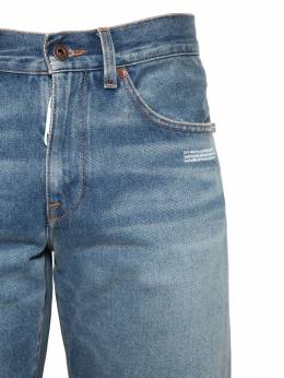 Slim Cotton Denim Jeans Off-White 71ILFA065-ODcwMQ2
