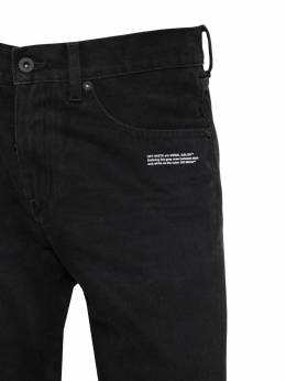Slim Cotton Denim Jeans Off-White 71ILFA064-MTAwMQ2