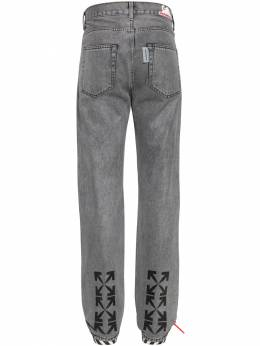 Waterproof Relaxed Tapered Denim Jeans Off-White 71ILFA057-MDgxMA2