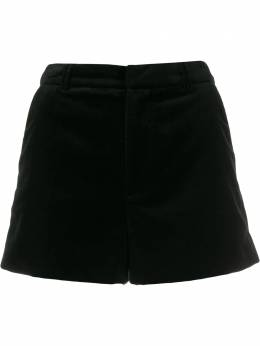 Zadig & Voltaire high-waisted velvet shorts SJCA3301F
