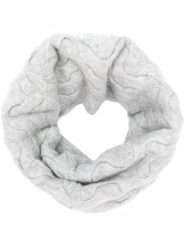N.peal cable knit snood NPA096C