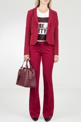 Брючный костюм красного цвета Liu Jo 1776167476