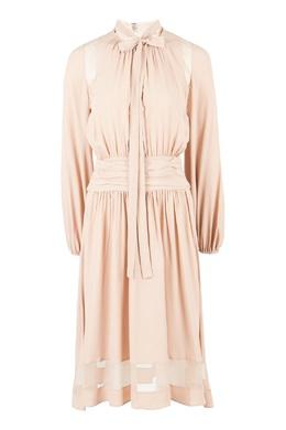 Платье с полупрозрачной вставкой No. 21 35167439