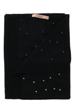 Черный шарф с заклепками Liu Jo 1776167556