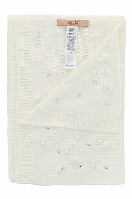Вязаный шарф с бусинами Liu Jo 1776167555