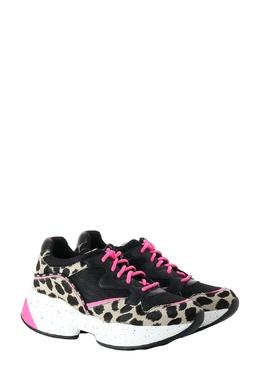 Кроссовки с леопардовым принтом и яркими шнурками Liu Jo 1776167490