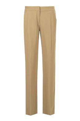 Бежевые брюки со стрелками No. 21 35167443