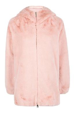 Короткая шуба розового цвета Liu Jo 1776167449