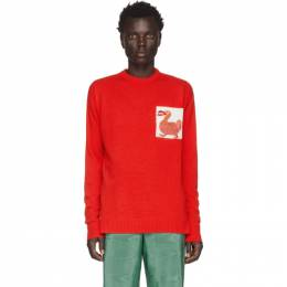 Loewe Red William De Morgan Dodo Sweater 201677M20102703GB