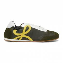 Loewe Green Ballet Runner Sneakers 201677M23704205GB