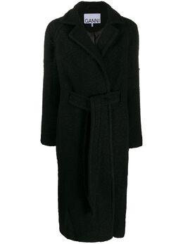 Ganni wrap coat F3739
