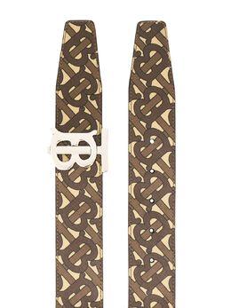 Burberry monogram print belt 8024192