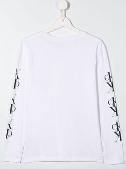 Calvin Klein Kids branded sweatshirt IB0IB00387