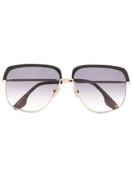 Victoria Beckham солнцезащитные очки в квадратной оправе VB201S