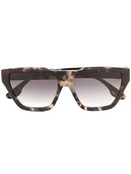Victoria Beckham солнцезащитные очки в оправе черепаховой расцветки VB145S