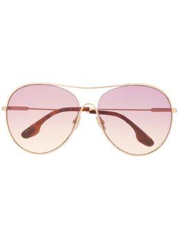 Victoria Beckham солнцезащитные очки-авиаторы VB131S