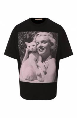 Хлопковая футболка Christopher Kane 576470/ULJ03