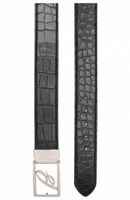 Ремень из кожи аллигатора Brioni 0BAG0L/P8722/AMIS