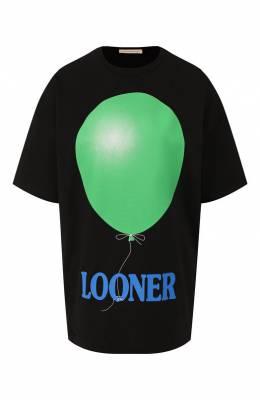 Хлопковая футболка Christopher Kane 595002/ULJ03