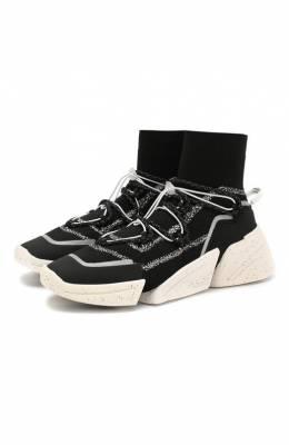 Текстильные кроссовки Kenzo F962SN450F65