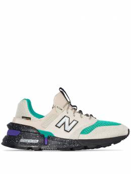 New Balance multicoloured MS997 leather sneakers MS997SB