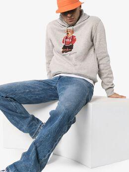 Polo Ralph Lauren Teddy print logo hoodie 710782860003