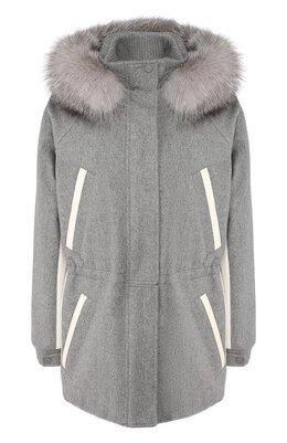 Куртка с меховой отделкой Loro Piana FAI8193