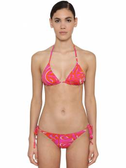 Printed Lycra Bikini Top Emilio Pucci 71IM5T059-MDY40