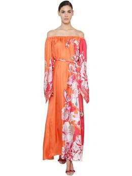 Silk Twill Long Dress Emilio Pucci 71IM5T053-MDEy0