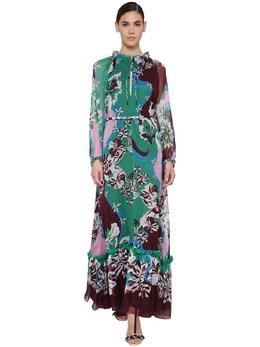 Printed Silk Chiffon Maxi Dress Emilio Pucci 71IM5T037-MDA10