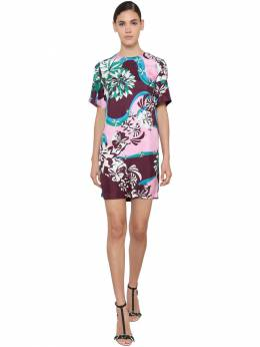 Printed Silk Twill Mini Dress Emilio Pucci 71IM5T036-MDA10
