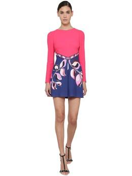 Printed Cady Mini Dress Emilio Pucci 71IM5T031-MzYy0
