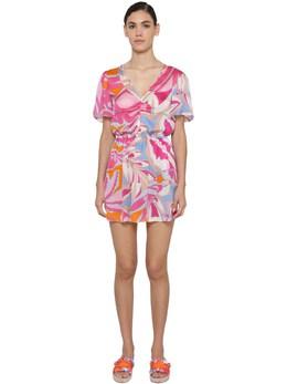 Printed Viscose Mini Dress Emilio Pucci 71IM5T004-MDYx0