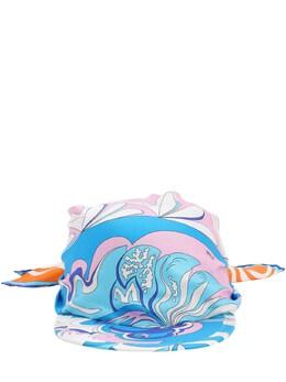 Printed Silk Bandana Hat Emilio Pucci 71IM58013-QTQ30