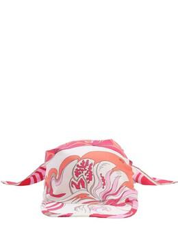 Printed Silk Bandana Hat Emilio Pucci 71IM58013-QTQ20