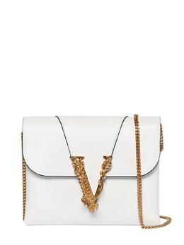 Virtus Smooth Leather Wallet Chain Bag Versace 71IA87007-SzBBT1Q1