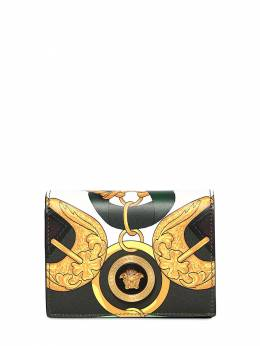 Printed Leather Compact Wallet Versace 71IA87006-RE5NMVQ1