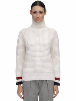 Wool Waffle Knit Sweater Thom Browne 70I524028-MTAw0