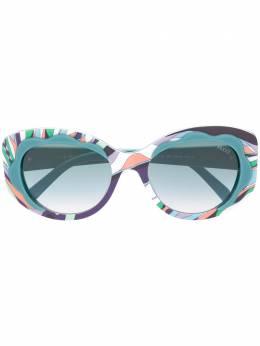 Emilio Pucci солнцезащитные очки с принтом EP0136