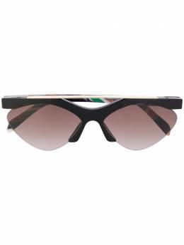 Emilio Pucci солнцезащитные очки с геометричным принтом EP0137