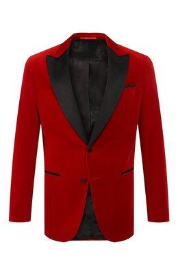 Хлопковый пиджак Boss 50421841