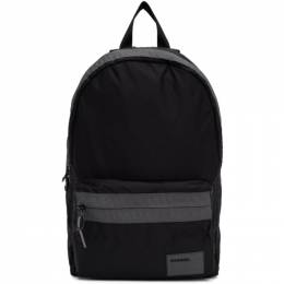 Diesel Black Mirano Backpack 201001M16610601GB