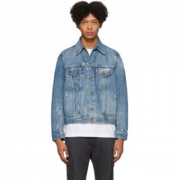 Diesel Blue Denim D-Bray Jacket 201001M17704104GB