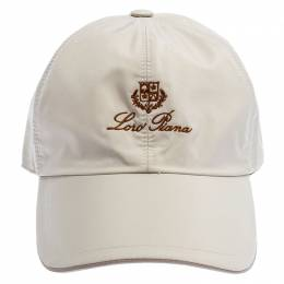 Loro Piana Beige Storm System Baseball Cap M 246983