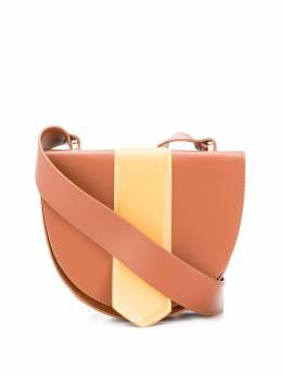 L'Autre Chose двухцветная сумка через плечо LBK0060212836G470