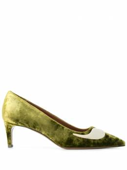 L'Autre Chose velvet pointed pumps LDK01555WP28216024